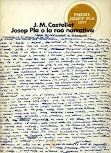 Josep Pla o la raó narrativa Destino